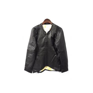 matohu - Leather Nocollar Jacket (size - M) ¥22000+tax→¥17600+tax