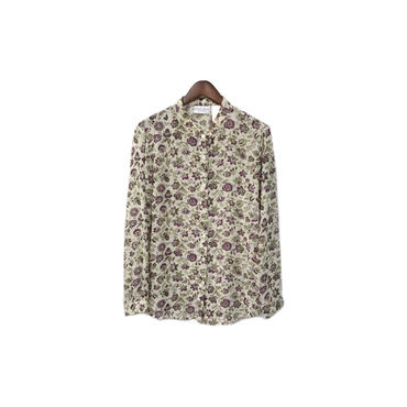 USED - Floral See through Shirt ¥7500+tax