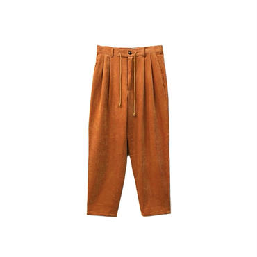 yotsuba - Corduroy Wide Pants / Orange ¥26000+tax