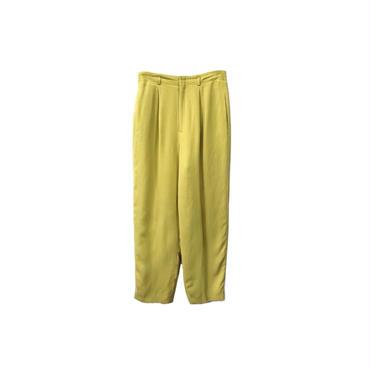 USED - Silk Tack Wide Slacks ¥10500+tax