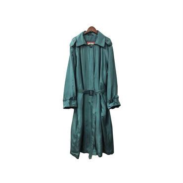 USED - Silk Soutiencollar Coat ¥13500+tax