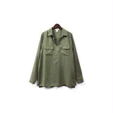 """"""" USED """" Tencel Skipper Shirt ¥7000+tax【着画あり】"""