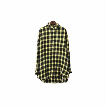 """ Y's for men "" Big Check Shirt ¥14000+tax【着画あり】"