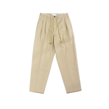 yotsuba - Wide Pants / BEIGE ¥19000+tax