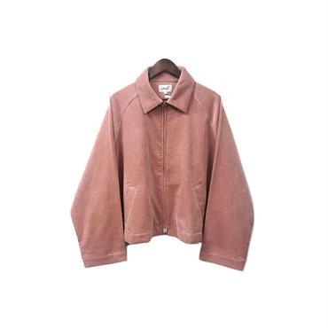 yotsuba - Corduroy Zip Jaket / Pink ¥28000+tax
