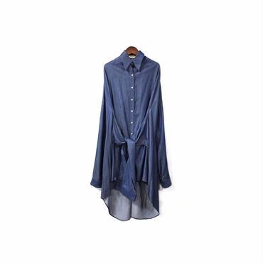 """"""" FADTHREE """" Design Shirt One-piece (size - F) ¥16500+tax→¥13500+tax"""