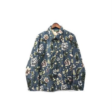 USED - Floral Shirt Jacket ¥9500+tax