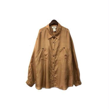 USED - Silk Over Shirt ¥8000+tax