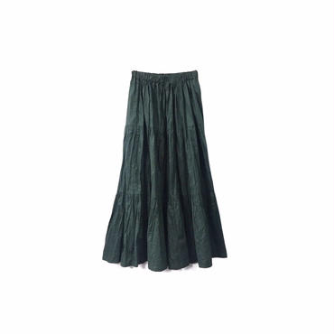 """"""" USED """" Check Flared Long Skirt ¥8500+tax→¥6500+tax【着画あり】"""