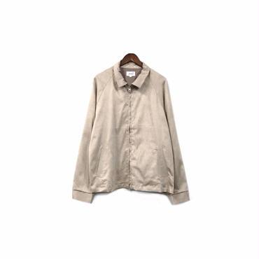 yotsuba - Fake Suede Swingtop Jacket / Beige ¥34000+tax
