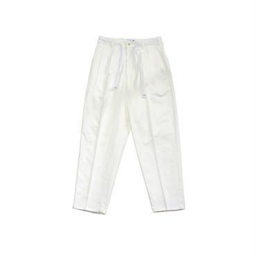 yotsuba - Wide Pants / WHITE ¥19000+tax