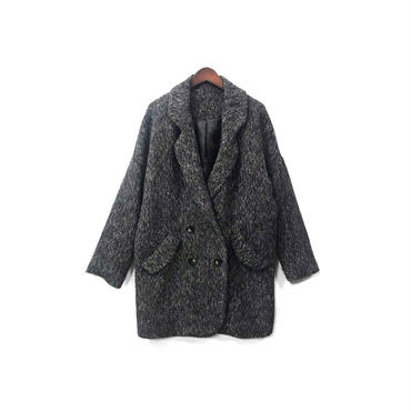 USED - Tweed W Half Coat ¥10500+tax