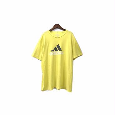 """ adidas "" Print Tee (size - XL) ¥5000+tax 【着画あり】"