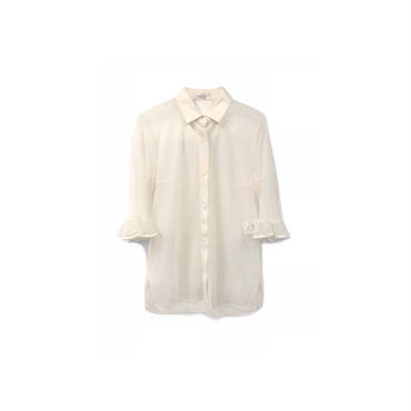 """ CARVEN "" レースデザインシャツ(¥13500+tax/S〜M程度) 【着用画像あり】"