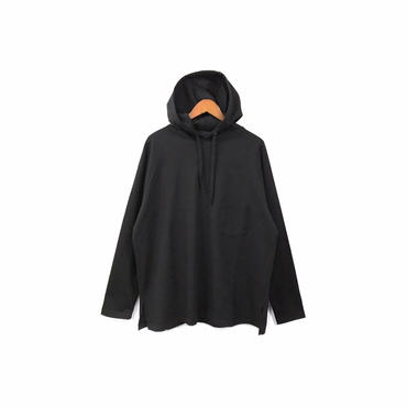 yotsuba - Hooded Cut&Sew / Black ¥12000+tax