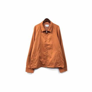 yotsuba - Fake Suede Swingtop Jacket / Orange ¥34000+tax