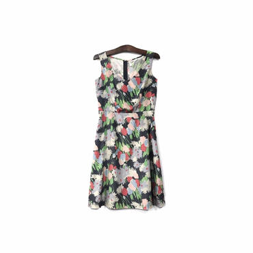 """ COMME des GARCONS "" Floral Sleeveless One-piece (size - M) ¥13500+tax→¥8500+tax【着画あり】"