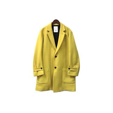 BLACK&BLUE - Melton Chesterfield Coat ¥32000+tax → ¥25600+tax