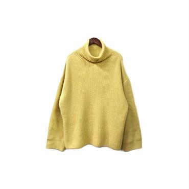 Edwina Horl - Over Turtleneck Knit Tops (size - M) ¥18000+tax