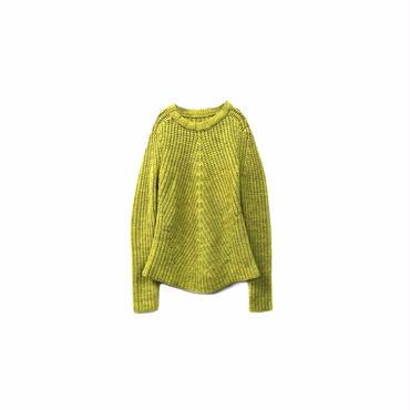""""""" USED """" Design Knit Tops(¥7500+tax→¥6000+tax/S〜M程度)"""