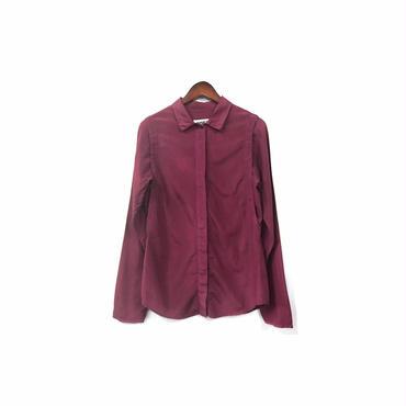""""""" MM6 """" Rayon&Cotton Shirt (size - 42) ¥12500+tax"""