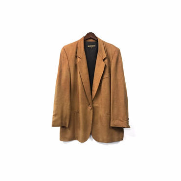 USED - Tailored Jacket / Camel ¥13000+tax→¥10500+tax