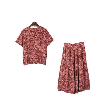 USED - Rayon Floral Set-up ¥12500+tax