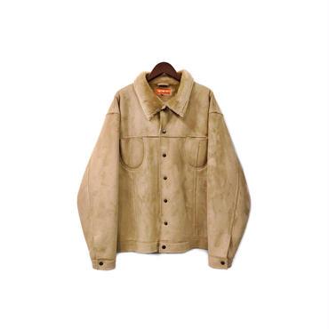 USED - Fake Suede Boa Jacket ¥16000+tax
