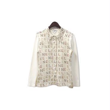 CELINE - Printed Dress Shirt (size - 36) ¥14000+tax