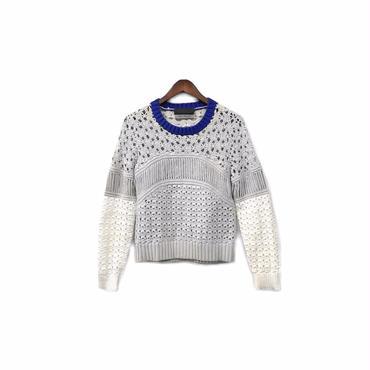 """ AKIRA NAKA "" Hand Made Design Knit Tops (size - 36) ¥18000+tax"