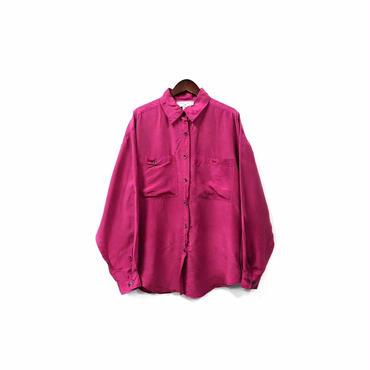 """ USED "" Silk Shirt ¥8000+tax【着画あり】"