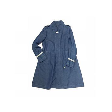 """"""" Robes&Confections """" 麻混デニムステンカラーコート(¥12500+tax/S〜M程度)"""