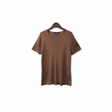 """"""" USED """" Silk&Rayon Knit Cut&Sew (size - M) ¥7000+tax【着画あり】"""