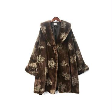 robe de chambre COMME des GARCONS - Design Fake Fur Coat ¥58000+tax