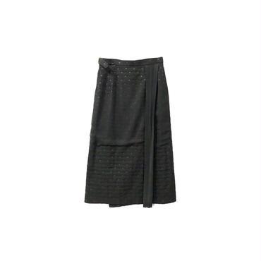 tricot COMME des GARCONS - Dot Wrap Skirt (size - M) ¥11000+tax