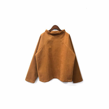 """"""" POOL BY CLASS """" Fake Suede Mock necked Tops (size - 1) ¥16500+tax【着画あり】"""