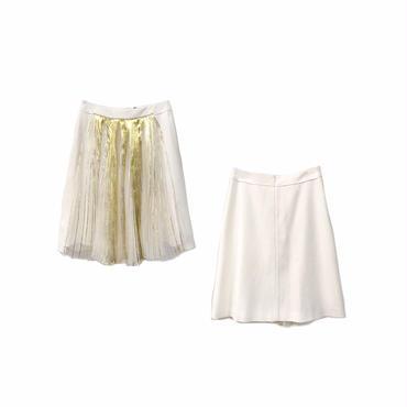 """"""" ENSORCIVET """" Design Pleated Skirt (size - 38) ¥13500+tax【着画あり】"""