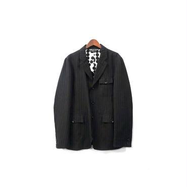 COMME des GARCONS HOMME PLUS - Stripe Tailored Jacket (size - S) ¥20500+tax