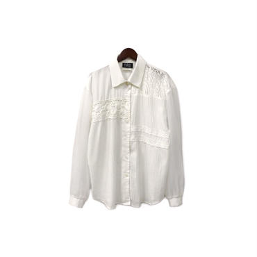 USED - Switching Design Shirt ¥8000+tax