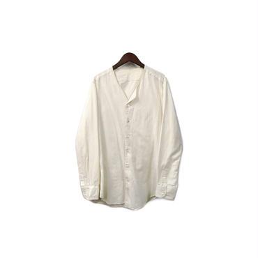 the Sakaki - Nocollar Shirt (size - L) ¥11000+tax→¥8800+tax