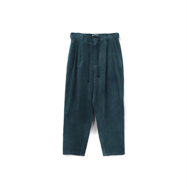 yotsuba - Corduroy Wide Pants / Green ¥26000+tax
