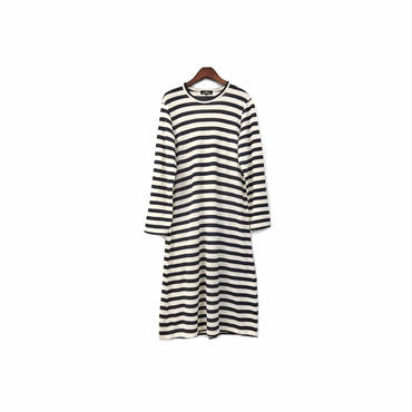 """ tricot COMME des GARCONS "" Border Long One-piece (size - S) ¥15000+tax→¥11000+tax【着画あり】"
