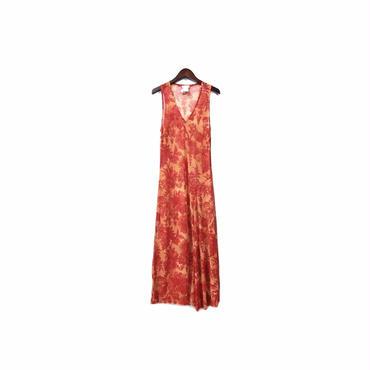 """ DRIES VAN NOTTEN "" Floral Design Sleeveless One-piece (size - 38) ¥16500+tax→¥11000+tax【着画あり】"