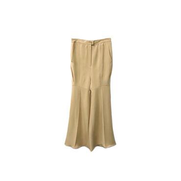 USED - Remake Silk Flared Pants ¥8000+tax