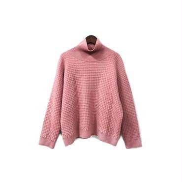URU - Mock neck Wool Knit (size - 2) ¥14000+tax
