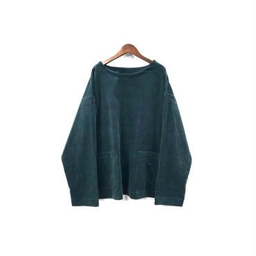 yotsuba - Corduroy Pullover Tops / Green ¥26000+tax