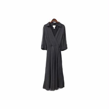 USED - Dot Silk Long One-piece ¥11500+tax