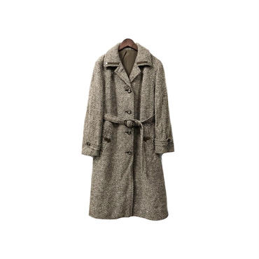 USED - Tweed Long Coat ¥20500+tax→¥12300+tax