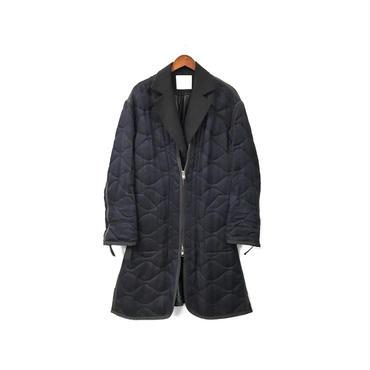 sacai - Layered Design Quilting Coat ¥38000+tax