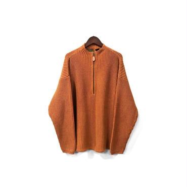 Eddie Bauer - Half Zip Cotton Knit (size - M) ¥8000+tax